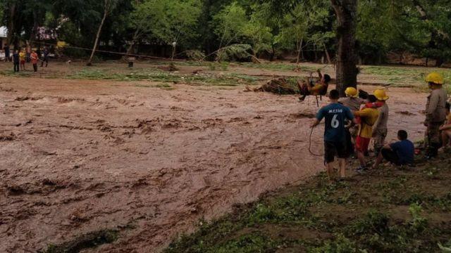 Rescate en Honduras