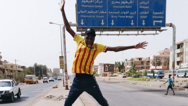 Trekking 10,000km across Africa for a football match