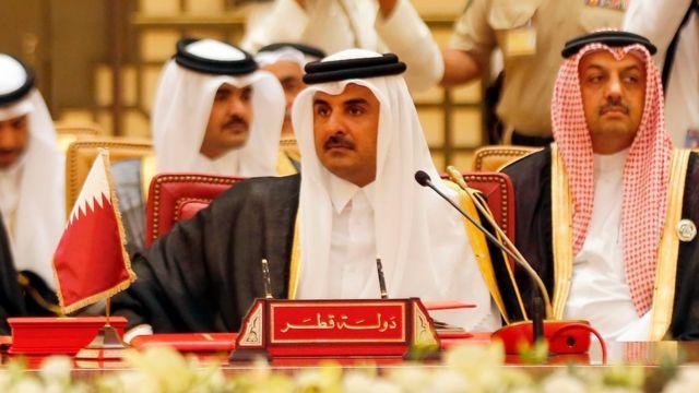 شیخ تمیم بن حمد آل ثانی، امیر قطر