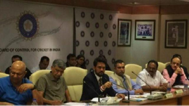 बीसीसीआई की बैठक