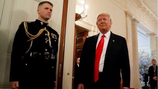 Trump yari mu kiganiro na Fox News