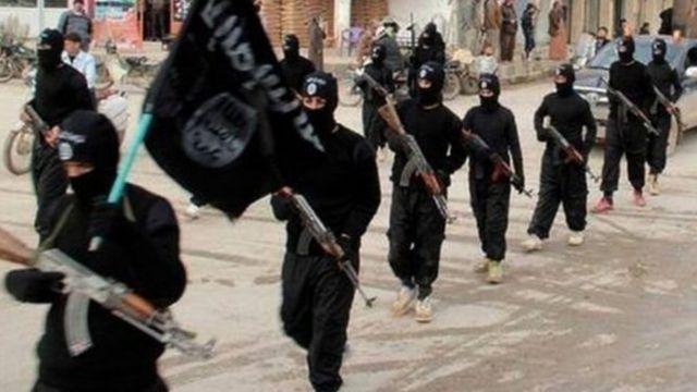 مسلحو تنظيم الدولة الإسلامية