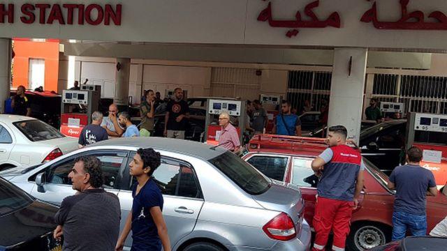 بحران سوخت در لبنان