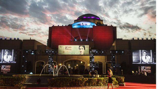 دار عرض الأوبرا المصري بالقاهرة حيث افتتح المهرجان