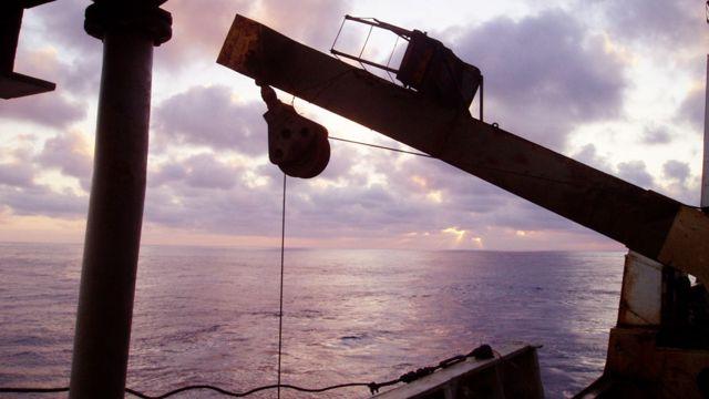 Equipamientos sísmicos en navíos