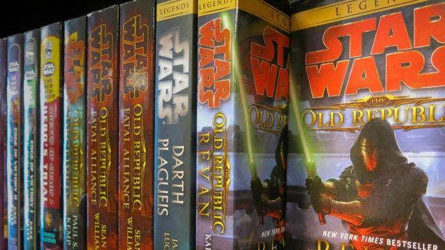 """Libros de la """"Guerra de las Galaxias"""""""