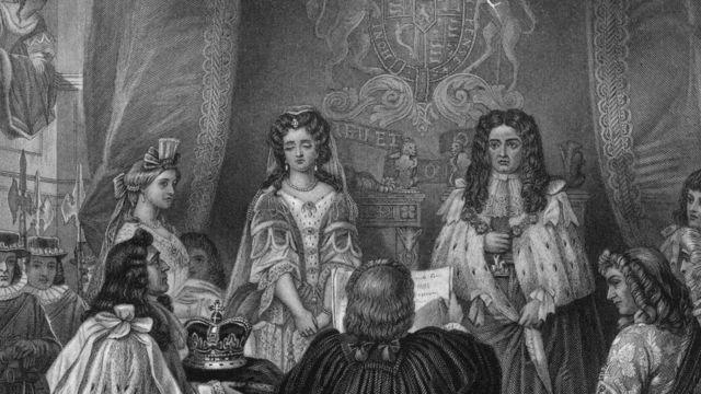 Королева Мэри и король Уильям