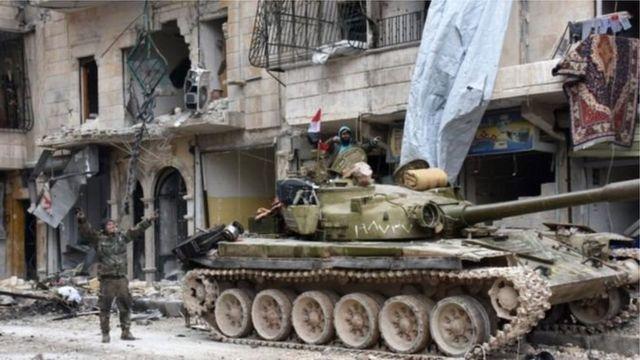 Yarjejeniyar ta biyo bayan nasarar kwace Aleppo da sojojin Syria suka yi daga hannun 'yan tawaye