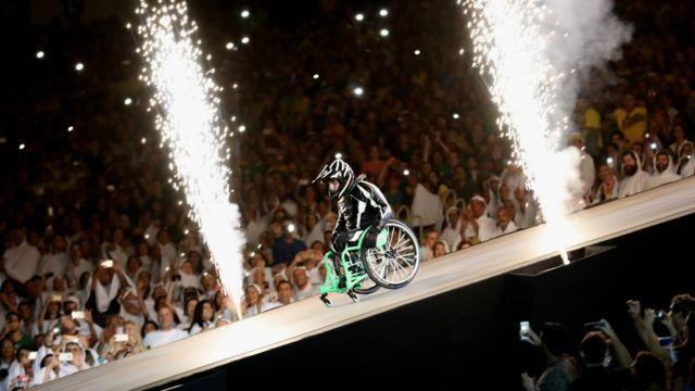 Inauguración de los Juegos Paralímpicos de Río 2016.