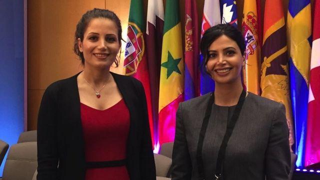 28-летняя Марьям Ростампур и 31-летняя Марзия Амиризаде