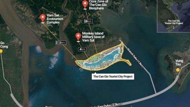 Hình ảnh mô tả vị trí của dự án