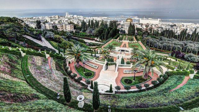 Jardines de Bahai