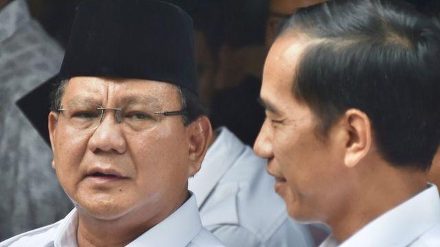 Prabowo Subianto dan Joko Widodo