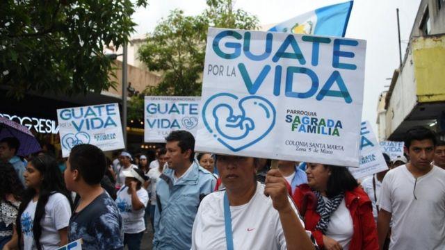 Marcha a favor de la vida el domingo 2 de septiembre en Guatemala.