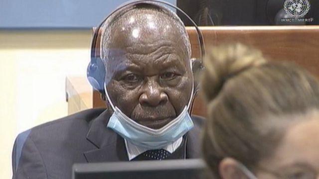 Felicien Kabuga mu rukiko mu kwezi kwa 11 2020 i La Haye mu Buholandi