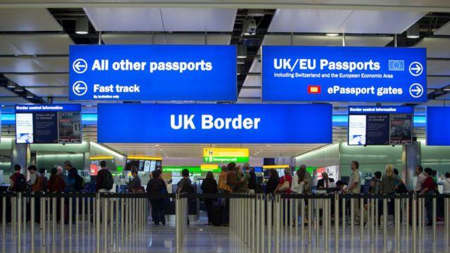 Imigração britânica de fronteira