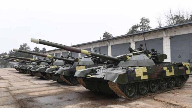 модернізовані танки Т-72АМТ
