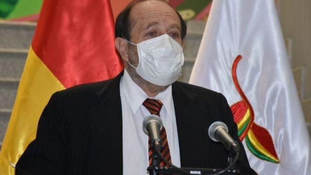 Marcelo Navajas es el segundo ministro de Salud desde que comenzó el gobierno transitorio de Áñez.