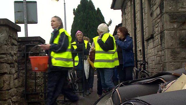Volunteers helping in Kendal