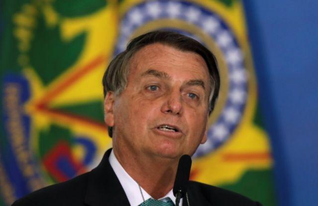Presidente brasileiro Jair Bolsonaro