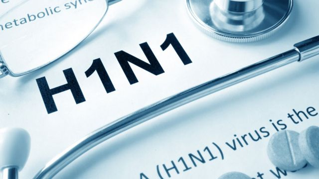 A document that says H1N1