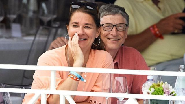 Bill Gates et Melinda Gates ont assisté au Global Champions Tour de Monaco à Monte-Carlo en 2017.