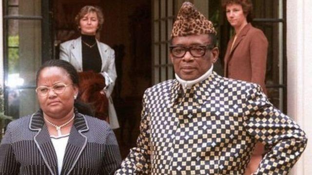 Mobutu Sese Seko aliitawala Jamhuri ya Kidemokrasia ya Kongo iliyokuwa Zaire, kwa miaka 30