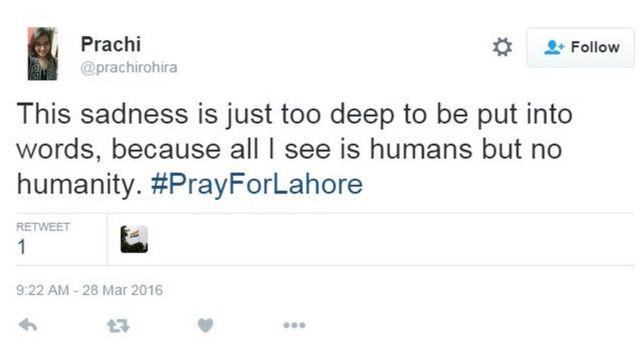 プラチさんは「この悲しみは言葉にならないほど深い。人間はいても、人間性が見えないので」とツイートした