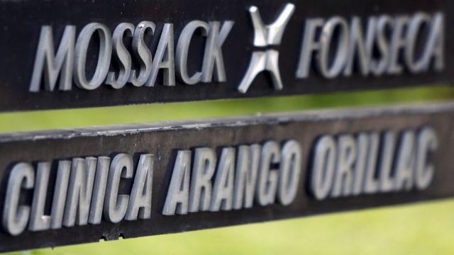 Mossack Fonesca sign