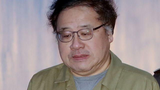 박근혜·최순실 재판 증인 출석하는 안종범