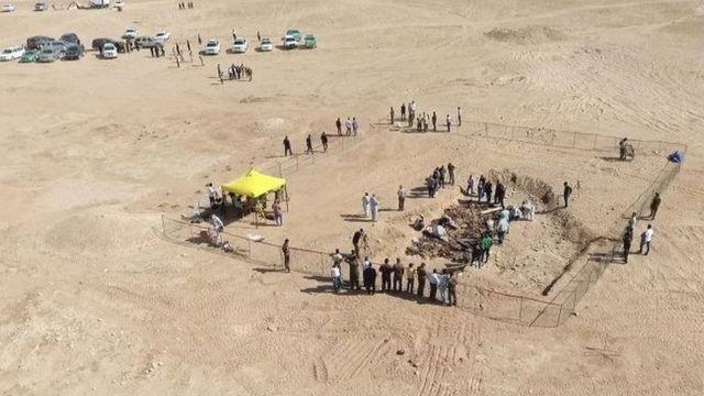 موقع مقبرة جماعية بالعراق