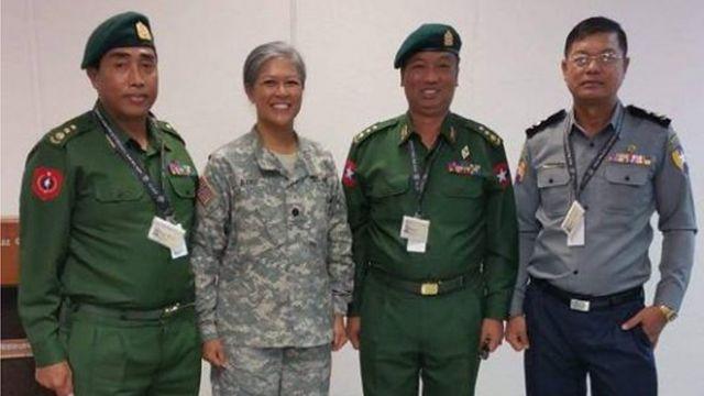 မြန်မာပြည်က စေလွှတ်လိုက်တဲ့ စစ်ဗိုလ်ချုပ်တွေ၊ ရဲတပ်ဖွဲ့ဝင်တွေနဲ့ အစိုးရအရာရှိကြီးတွေကို သင်တန်းပို့ချပေးသူဖြစ်ပါတယ်။