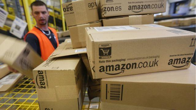 Funcionário da Amazon na Alemanha
