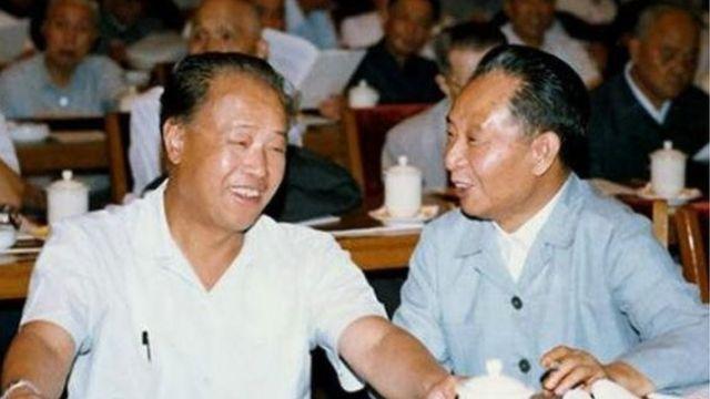 总理赵紫阳、总书记胡耀邦