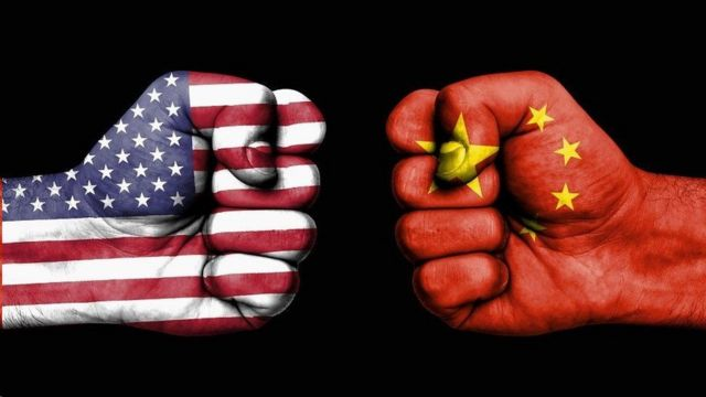美国与中国