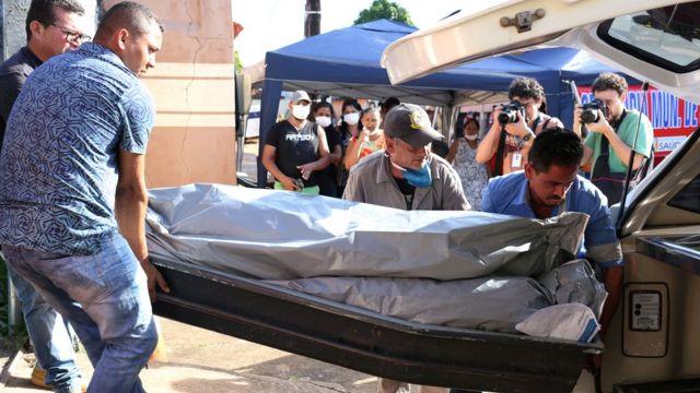 Mortos em presídio do Pará