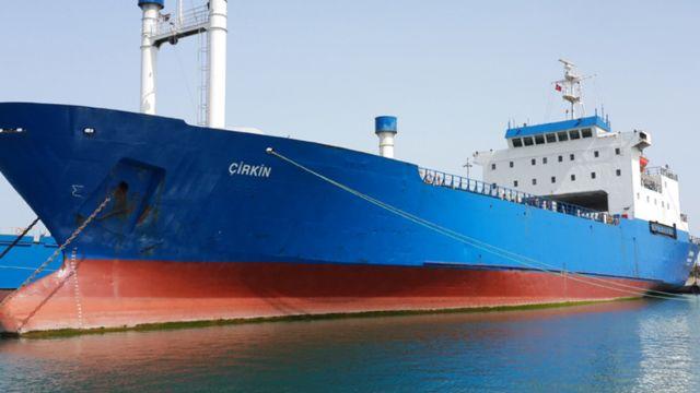 Avrasya Shipping şirketine ait Çirkin adlı gemi ambargoyu delmekle suçlanıyor