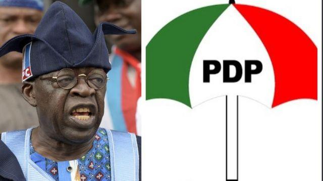 PDP kóTinubu ní ìjánu
