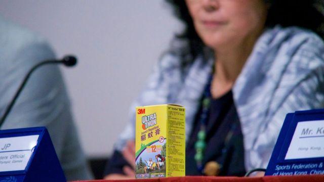 Delegação de Hong Kong apresenta repelentes elétrico e para a pele
