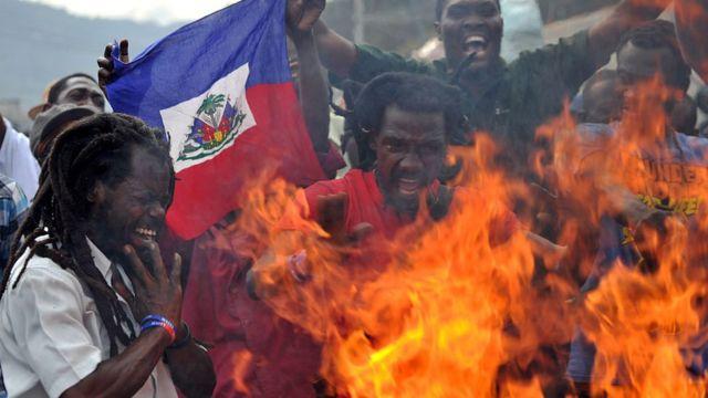 Protestas Haiti
