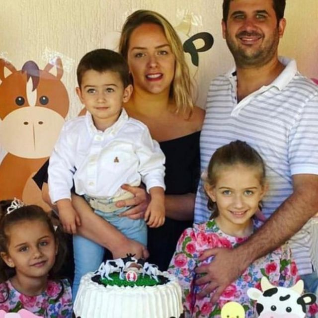 Yuby Cartes' family