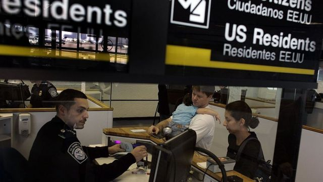 Aeropuerto en EE.UU.