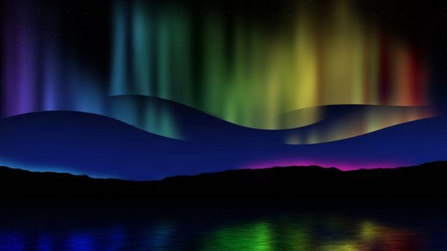 Aurora en Islandia