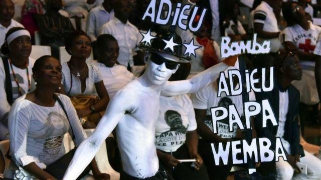 I Abidjan muri Cote d'ivoire aho yaguye arimo kuririmba haraye habaye igitaramo mu ijoro cyo kumwibuka