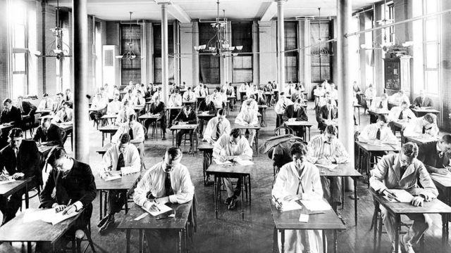 Estudiantes de la Johns Hopkins University.