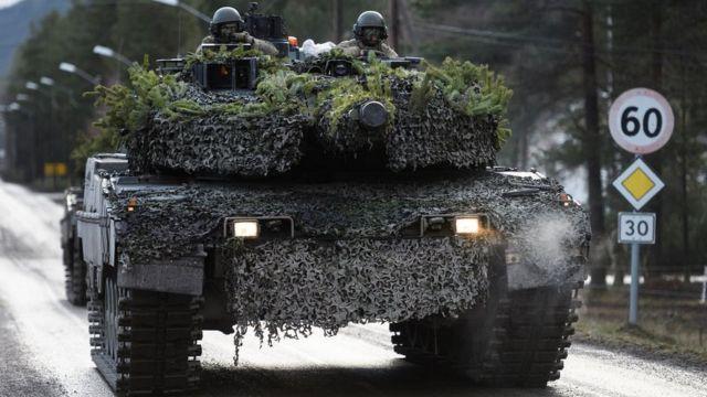Маневры НАТО в Норвегии