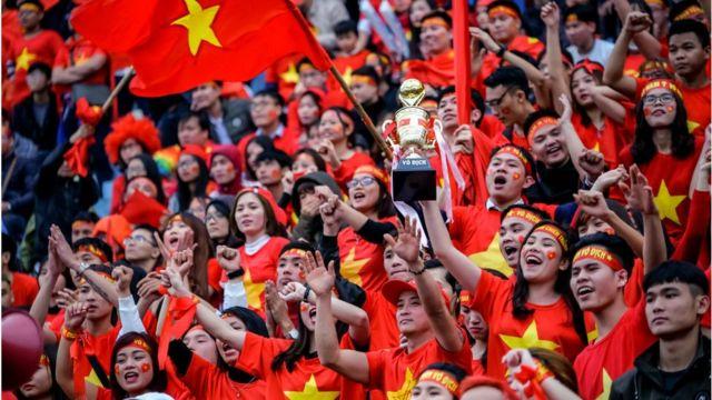 Bóng đá được coi là môn thể thao vua ở Việt Nam
