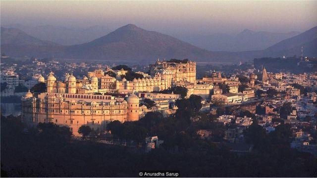 Palácio em Udaipur