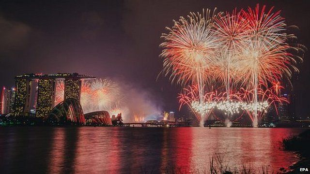 Singapore marks 50 years of independence
