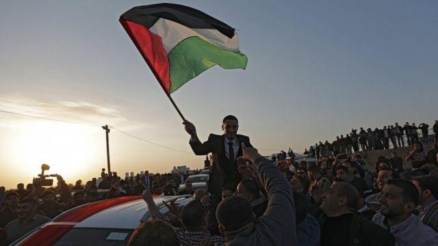 تظاهرات فلسطینیها